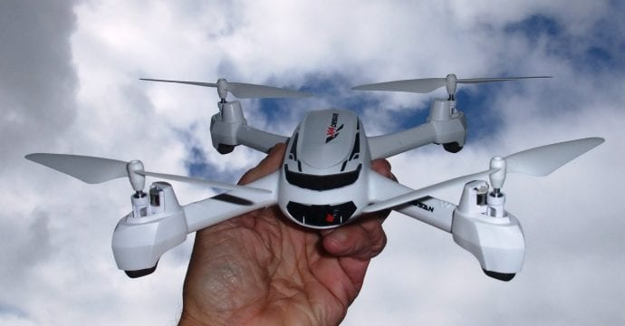 Drone in a Hand