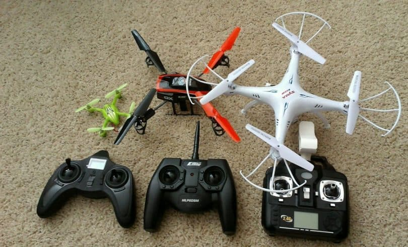 Cheap quads with controllers