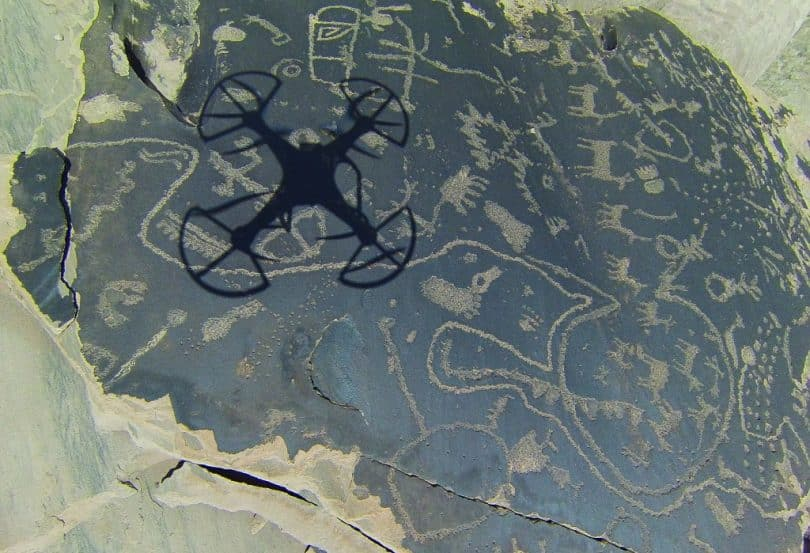 Geographic mapping drone