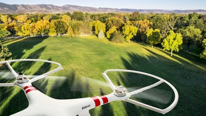 Aerial Photography Drone Stability