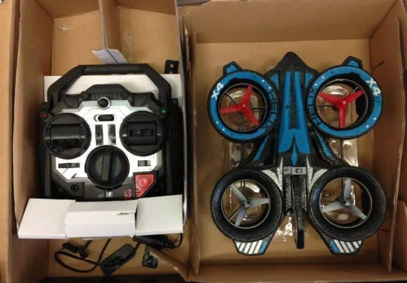 AirHogs Helix X4 in the box