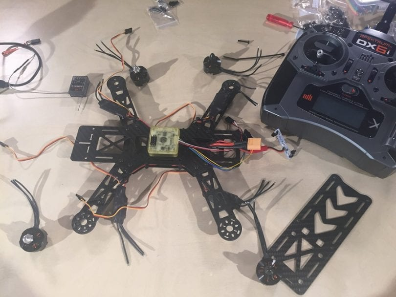 Building your first FPV quadcopter kit