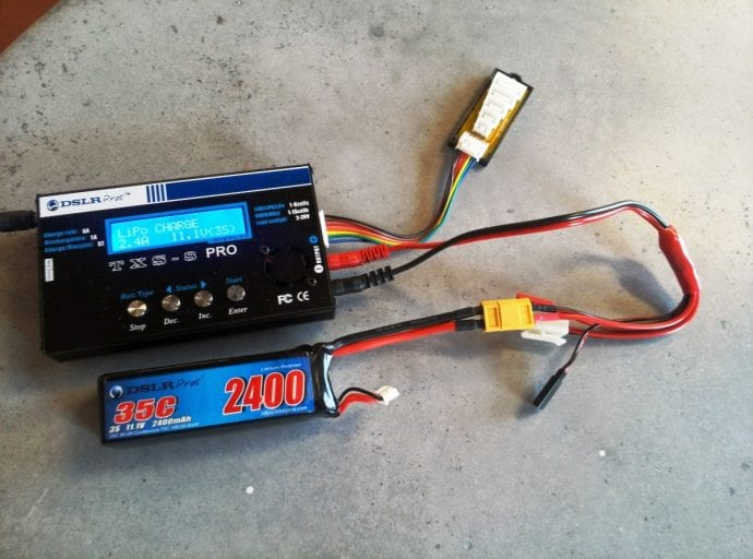 Charging Quadcopter Battery
