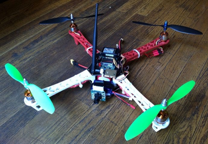 DIY Quadcopter With Camera