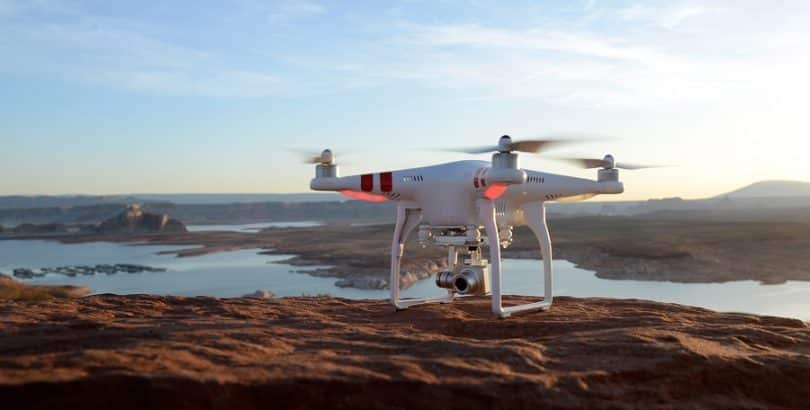 DJI Phantom 2 Vision flight