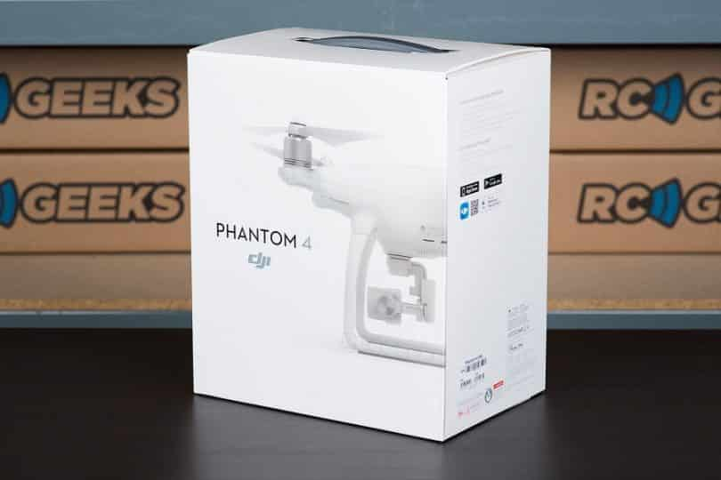 DJI Phantom 4 packaging