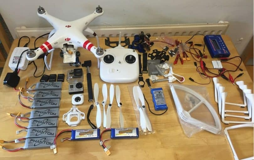 DJI phantom accessories review