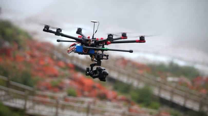 DJI Spreading Wings S900 Professional Hexacopter