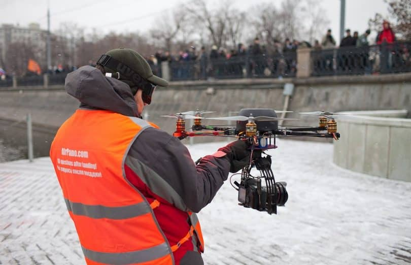 Drone Filming and journalism