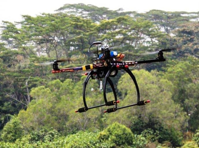 Drone For Aerial Photography Functions