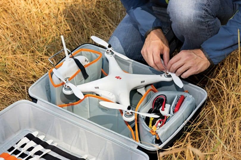 Drone carrying case