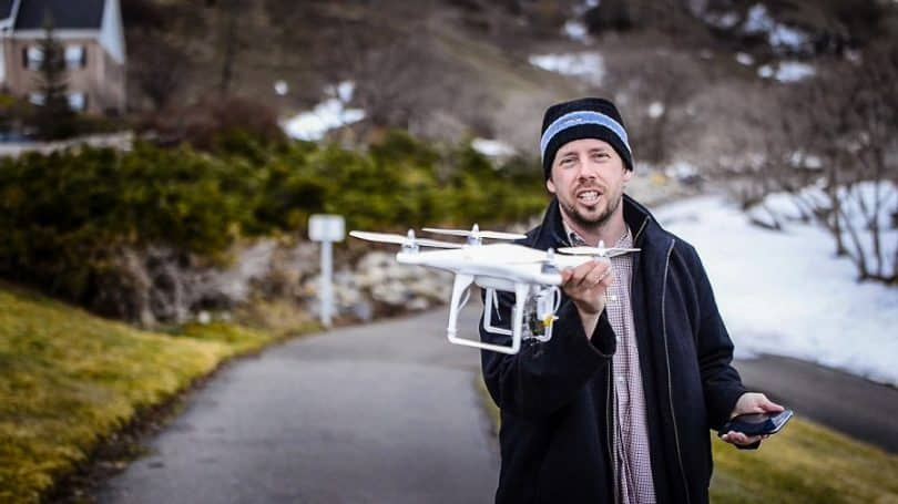 Drone for aerial photography