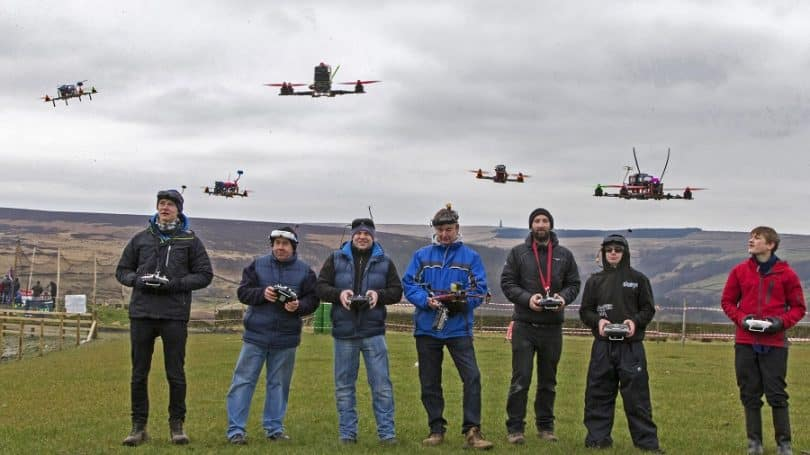 Drone racing group