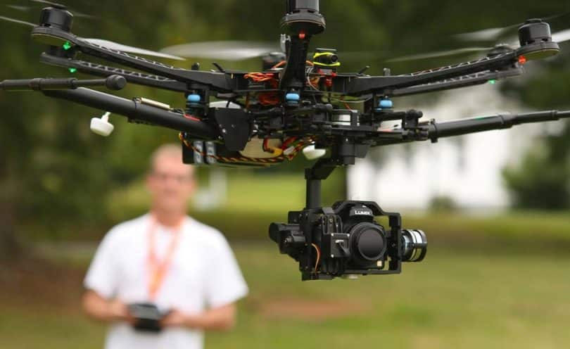 Drone with Gimbals