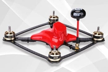 FPV Drone Racing Kit - DYS XDR220 RTF FPV Racing Drone