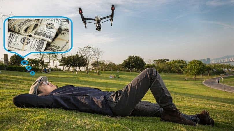 Making money with drones