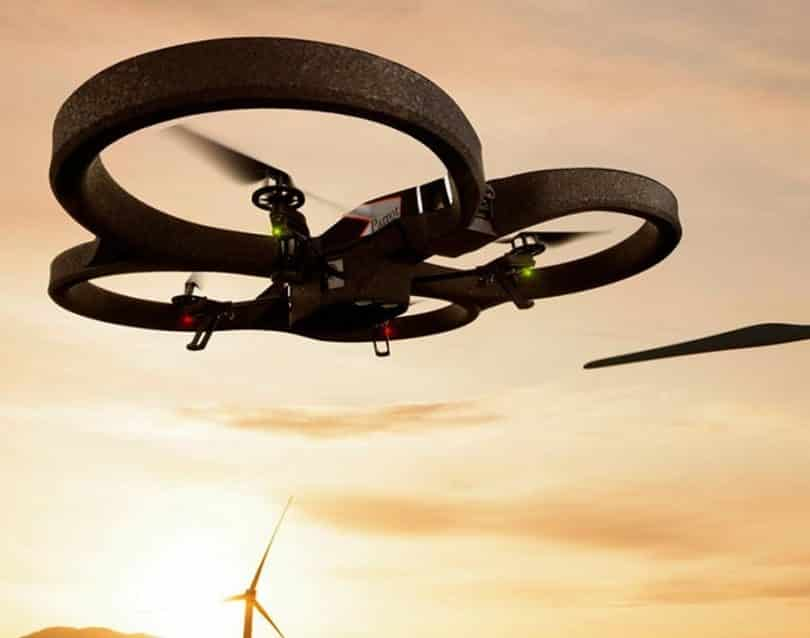 Parrot AR Drone 2.0 features and specifications