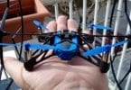 Parrot Mini Drone Rolling Spider blue