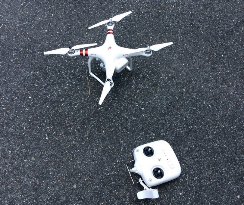 Phantom 3 drone with Controller