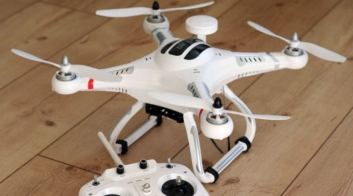 Piloting Quadcopter