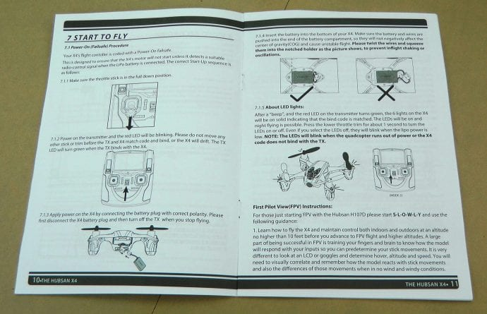 Quadcopter Kit Instructions