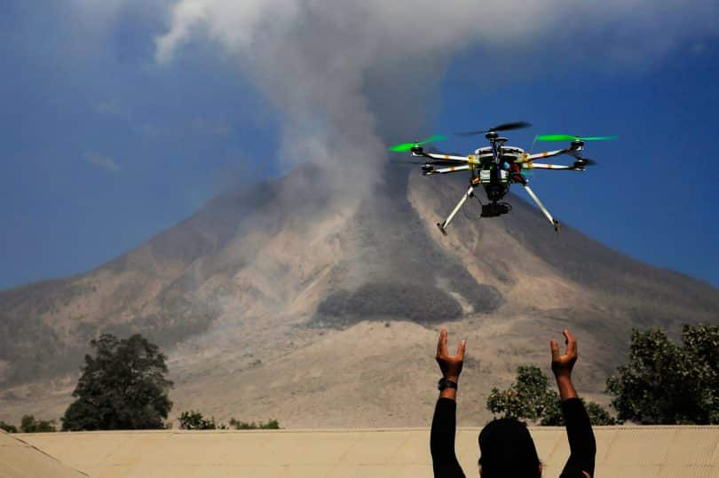 Drone disaster management