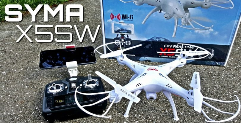 Syma X5SW 4 Channel Remote Controlled Quadcopter