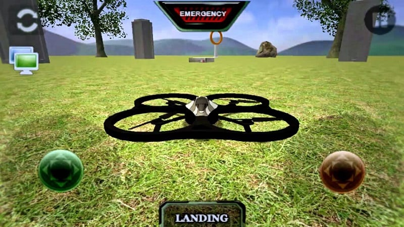 The AR drone simulator