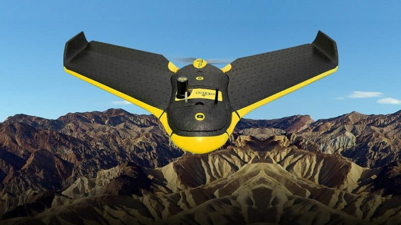 The SenseFly Swinglet Cam UAV Drone