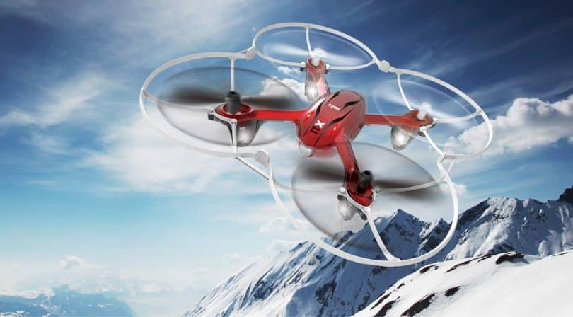 The Syma X11 Hornet Quadcopter drone