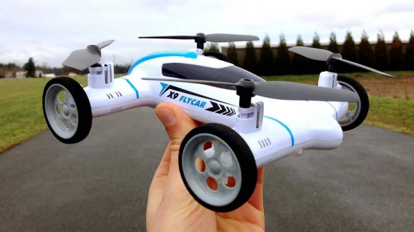 The Syma X9 Flycar Quadcopter