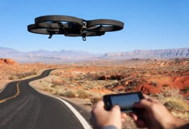 iPhone controlled drone