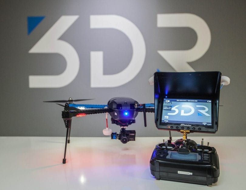 3DR Iris with controller