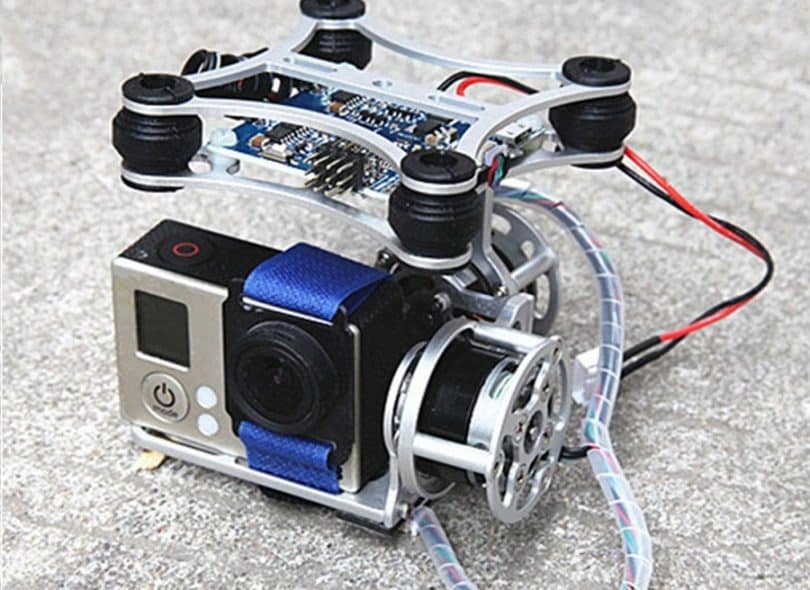 Andoer 2D Light Weight Silver Brushless Motor Gimbal