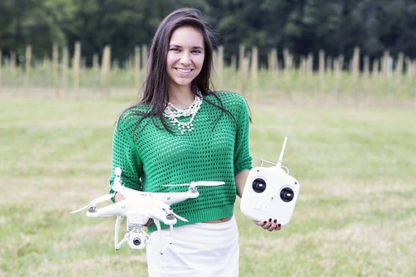Commercial drone users