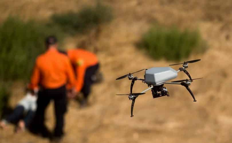 Drone for public entities