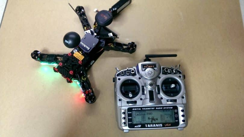 Eachine Racer 250 with controller