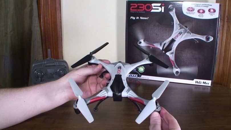 Heli-Max 230 SI RTF Quadcopter with Camera