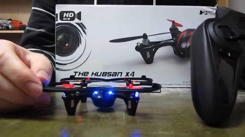 Hubsan X4 H107C UAV 2.4G 4CH Quadcopter with Camera