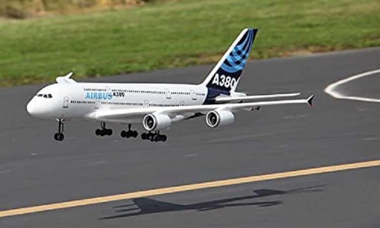 RC Plane 4CH French AirBUS plane A380 Aieliner