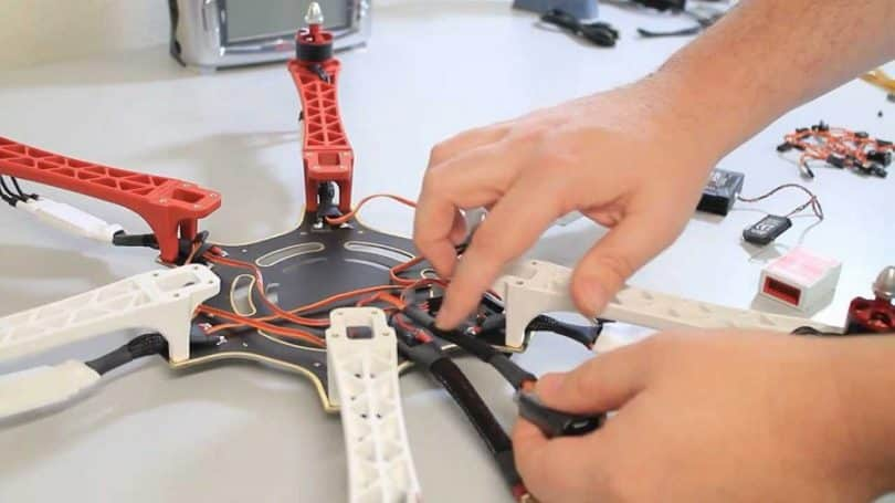 Skills for buidling a quadcopter