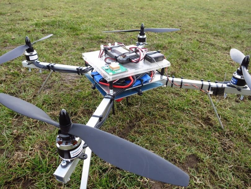 Testing the quadcopter