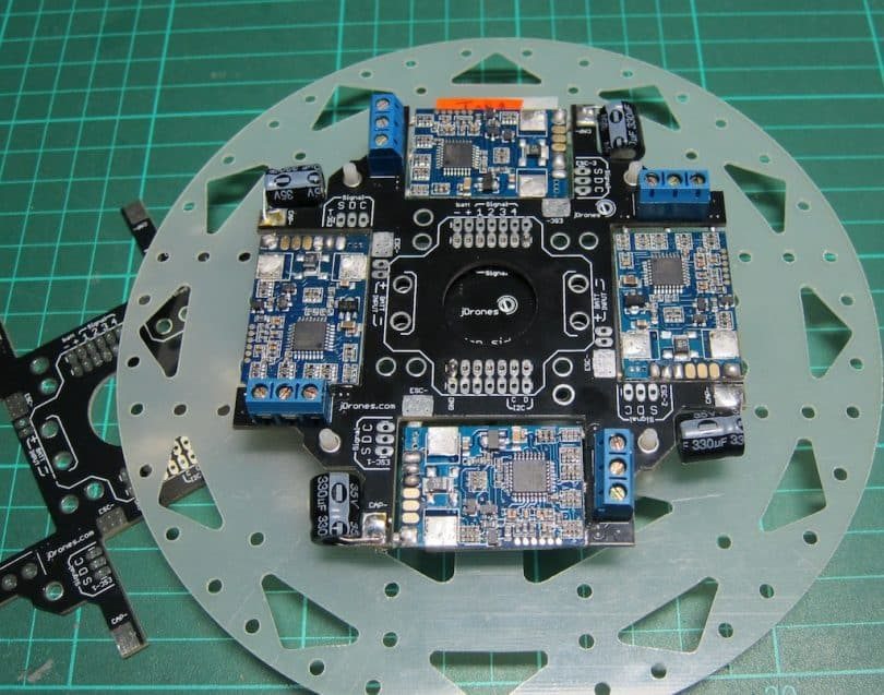 Drone power motherboard