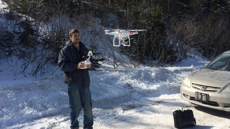 Use of drone in tracing missing persons