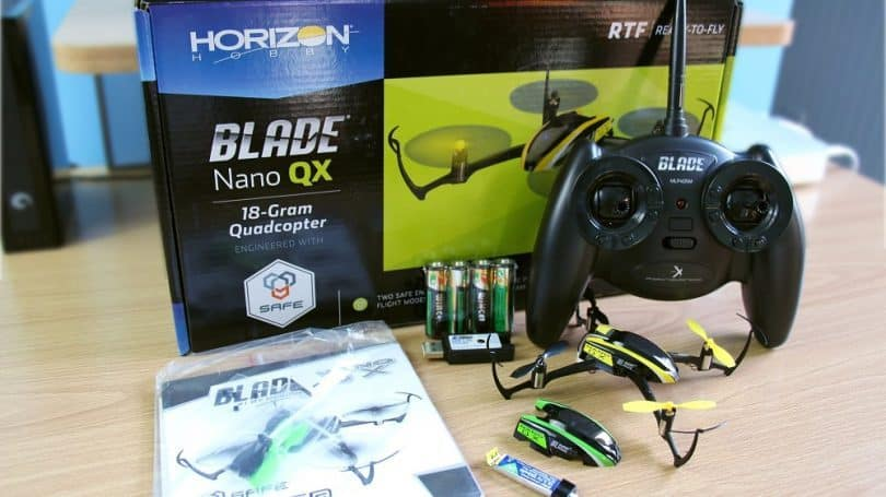 Blade Nano QX drone review