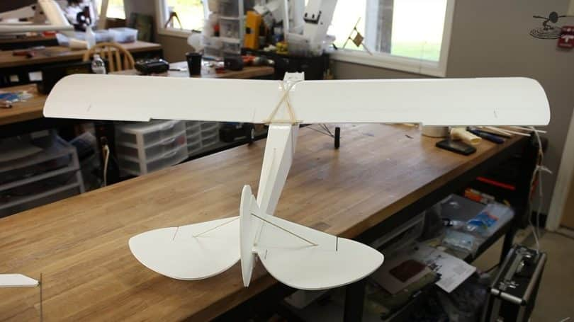 Making of RC plane