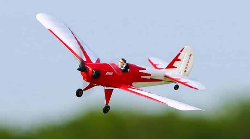 RC Plane in the air