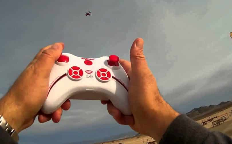 Syma X12S flight