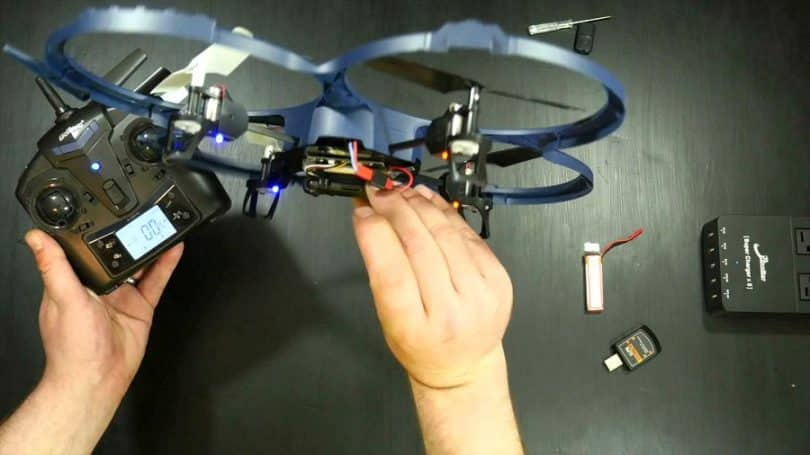 The UDI U818A Mini-drone
