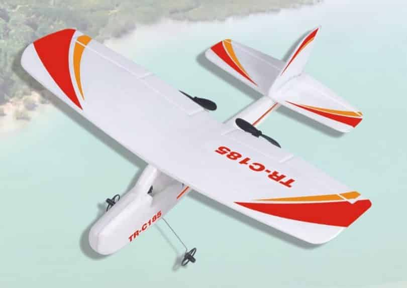 Top Race Cessna C185 Electric 2 Ch Infrared Remote Control RC Airplane